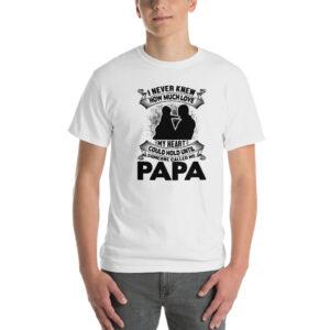 I never knew how much love – Camiseta clásica hombre Gildan kp2000
