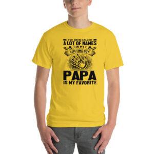 I've been called a lot of names – Camiseta clásica hombre Gildan kp2000