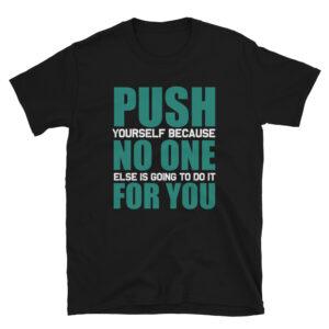 Push no one – Camiseta unisex Gildan kp64000