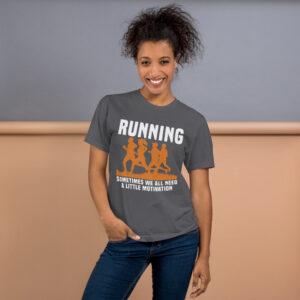 Running  – Camiseta unisex, American Apparel 2001