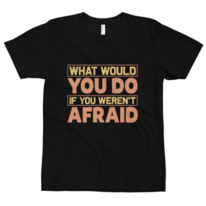 What would you do – Camiseta unisex, American Apparel 2001