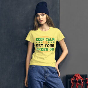Keep calm and get your green on – Kp880
