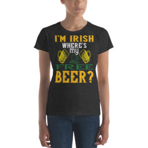 I'm irish where's my free beer – Kp880