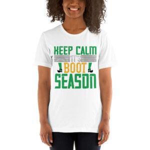 Keep calm it's boot season – Kp3001